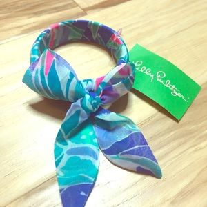 Lilly Pulitzer ribbon wrapped bangle NWT
